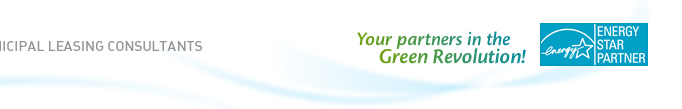Municipal Leasing Consultants - Your partners in the Green Revolution!